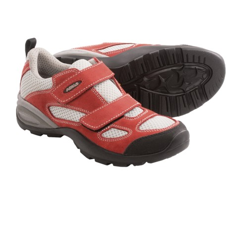 Asolo Rocket Jr. Hiking Shoes - Suede (For Youth) in Fire Red