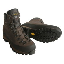 Asolo Sasslong Gore-Tex® Backpacking Boots - Waterproof, Nubuck (For Men) in Dark Brown - Closeouts