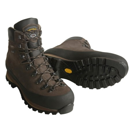 Asolo Sasslong Gore-Tex® Backpacking Boots - Waterproof, Nubuck (For Men) in Dark Brown