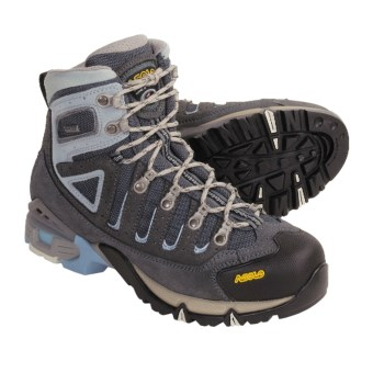 Asolo Shelter Gore-Tex® Hiking Boots - Waterproof (For Women) in Graphite/Gunmetal