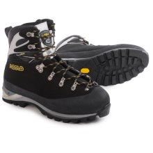 Asolo Sherpa GV MM Mountaineering Boots - Waterproof (For Men) in Black/Silver - Closeouts
