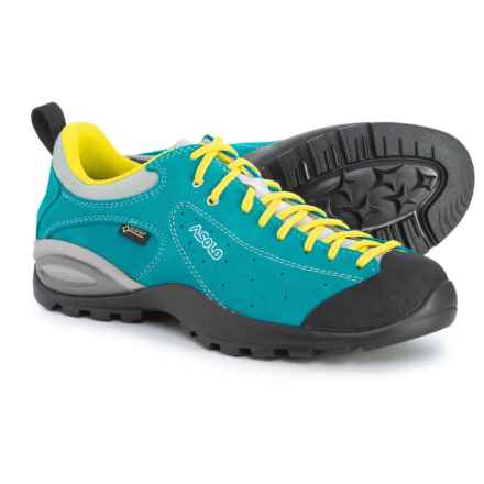 Asolo Shiver GV Gore-Tex® Hiking Shoes - Waterproof (For Women) in Blue Peacock - Closeouts