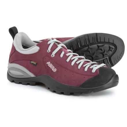 Asolo Shiver GV Gore-Tex® Hiking Shoes - Waterproof (For Women) in Plum - Closeouts