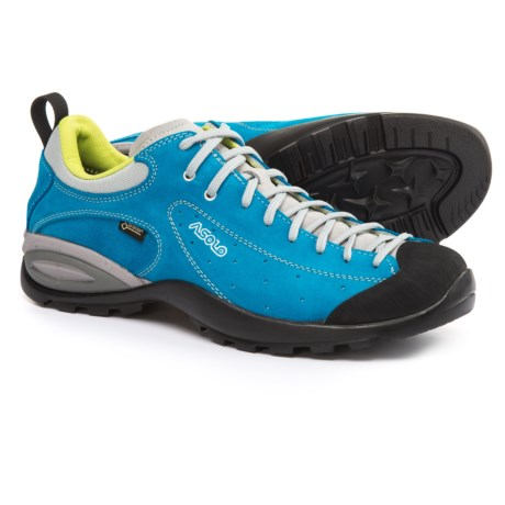 Asolo Shiver GV Gore-Tex® Hiking Shoes - Waterproof, Suede (For Men) in Blue Aster