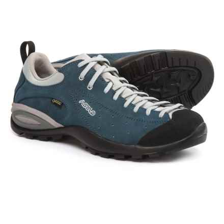 Asolo Shiver GV Gore-Tex® Hiking Shoes - Waterproof, Suede (For Men) in Denim Blue - Closeouts