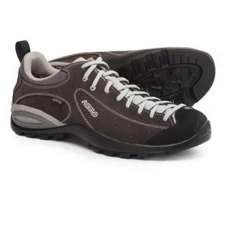 Asolo Shiver GV Gore-Tex® Hiking Shoes - Waterproof, Suede (For Men) in Elephant - Closeouts