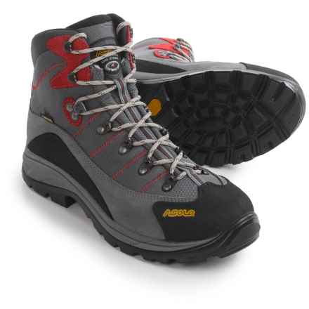 Asolo Skyline GV Gore-Tex® Hiking Boots - Waterproof (For Men) in Donkey/Stone - Closeouts