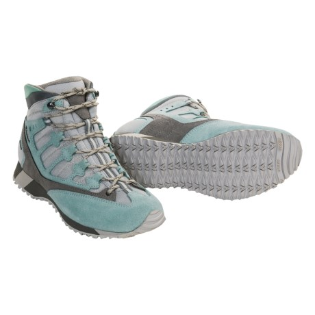 Asolo Smarty Gore-Tex® Hiking Boots - Waterproof (For Women) in Aquifer/Light Grey