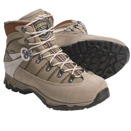 Asolo Spyre GV Gore-Tex® Hiking Boots - Waterproof (For Women) in Dark Sand/Tortora