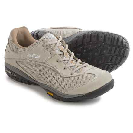 Asolo Starlet Hiking Shoes - Suede (For Women) in Ice - Closeouts