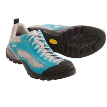 Asolo Sunset Hiking Shoes (For Women) in Sea Blue/Silver - Closeouts