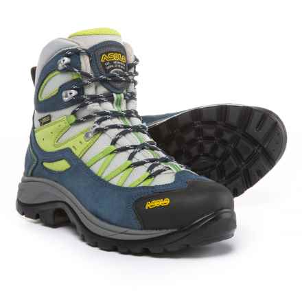 Asolo Swing GV Gore-Tex® Hiking Boots - Waterproof (For Women) in Denim Blue/Grey - Closeouts