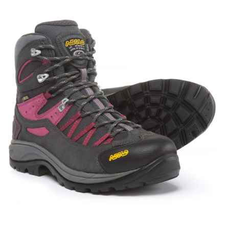 Asolo Swing GV Gore-Tex® Hiking Boots - Waterproof (For Women) in Graphite/Gunmetal - Closeouts