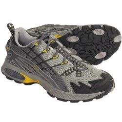 Asolo Switch Trail Running Shoes (For Women) in Dark Grey/Black