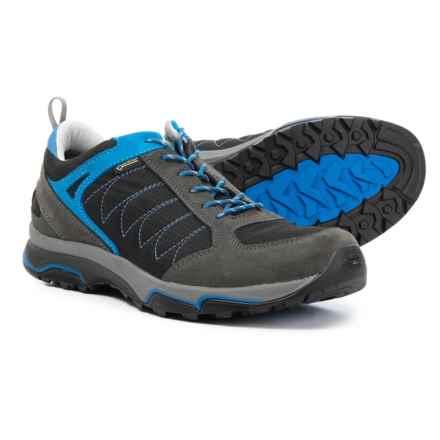 Asolo Sword GV Gore-Tex® Hiking Shoes (For Men) in Graphite/Black - Closeouts