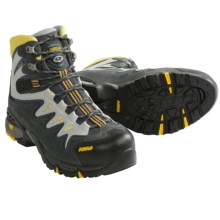 Asolo Synchro Gore-Tex® Hiking Boots - Waterproof (For Men) in Graphite/Gunmetal/Yellow - Closeouts