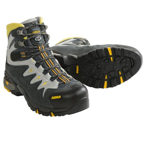 Asolo Synchro Gore-Tex® Hiking Boots - Waterproof (For Men) in Wool/Dark Brown