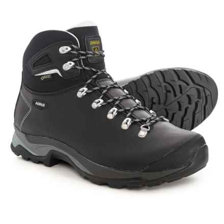 Asolo Thyrus GV Gore-Tex® Hiking Boots - Waterproof (For Men) in Black/Black - Closeouts