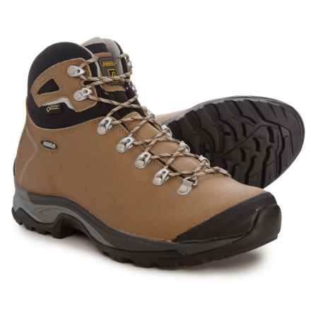 Asolo Thyrus GV Gore-Tex® Hiking Boots - Waterproof (For Women) in Brown Sugar/Black - Closeouts