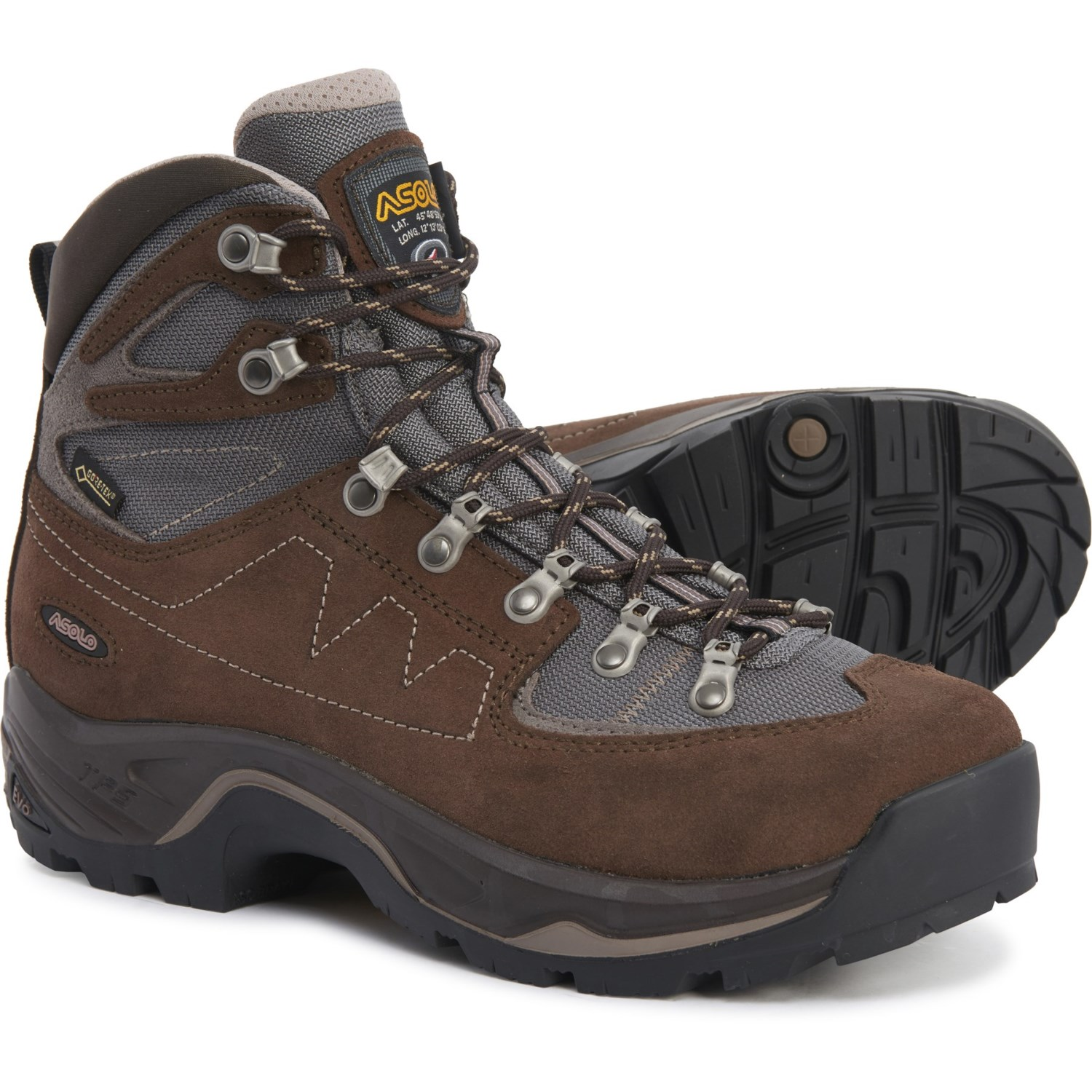 Asolo TPS Equalon GV Gore Tex® Hiking Boots Waterproof, Leather (For Men)