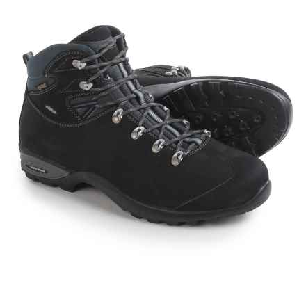 Asolo Triumph Gore-Tex® Suede Hiking Boots - Waterproof (For Men) in Black - Closeouts