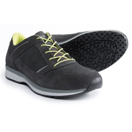 Asolo Wink Shoes -Suede (For Men) in Graphite/Graphite
