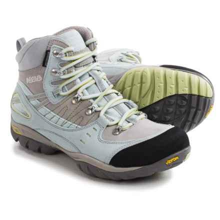 Asolo Yuma Hiking Boots - Waterproof (For Women) in Artic Blue/Silver - Closeouts