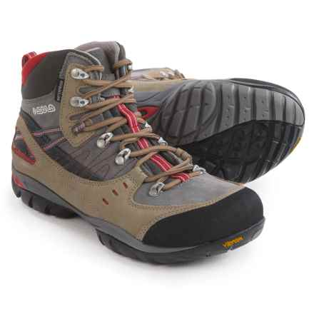 Asolo Yuma Hiking Boots - Waterproof (For Women) in Dark Sand/Cendre - Closeouts