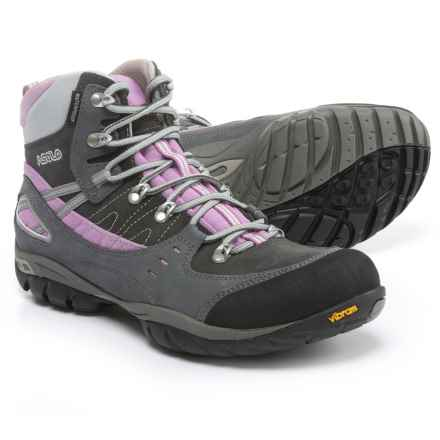 Asolo Yuma Hiking Boots - Waterproof (For Women) in Grey/Graphite - Closeouts