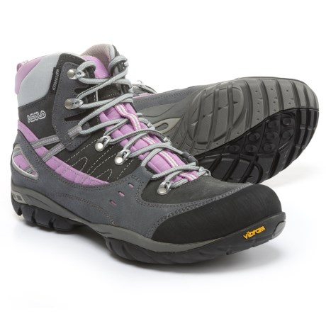 Asolo Yuma Hiking Boots - Waterproof (For Women) in Grey/Graphite
