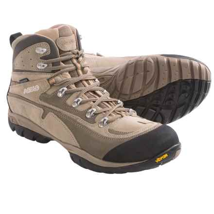 Asolo Zion WP Hiking Boots - Waterproof (For Men) in Cortex/Dark Sand - Closeouts