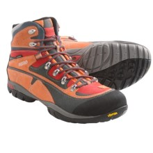 Asolo Zion WP Hiking Boots - Waterproof (For Men) in Graphite/Mandarin - Closeouts