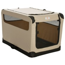 ASPCA Portable Soft Pet Crate - Large in Tan, - Closeouts
