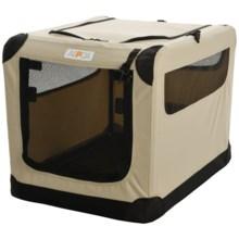 "ASPCA Portable Soft Pet Crate - Small, 21x15x15"" in Tan - Closeouts"