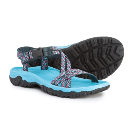 Aspen Double-Strap Sport Sandals (For Women) in Navy