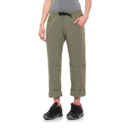 Aspen Mosquito-Repelling Boulder Convertible Pants - UPF 40+ (For Women) in Sage Green - Closeouts