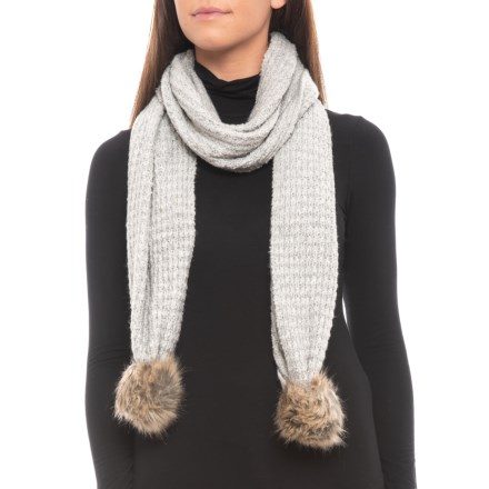 fac820deee44 Aspen Recovery Yarn Scarf (For Women) in Light Heather Grey - Closeouts
