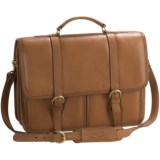 Aston Leather Briefcase - Two Compartment
