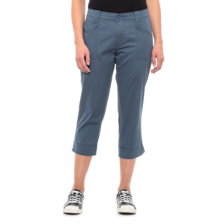 Image of Astronaut Solid Capris (For Women)
