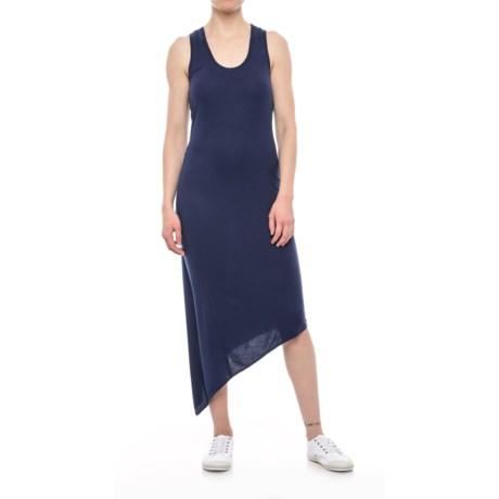 Asymmetrical Racerback Dress - Sleeveless (For Women)