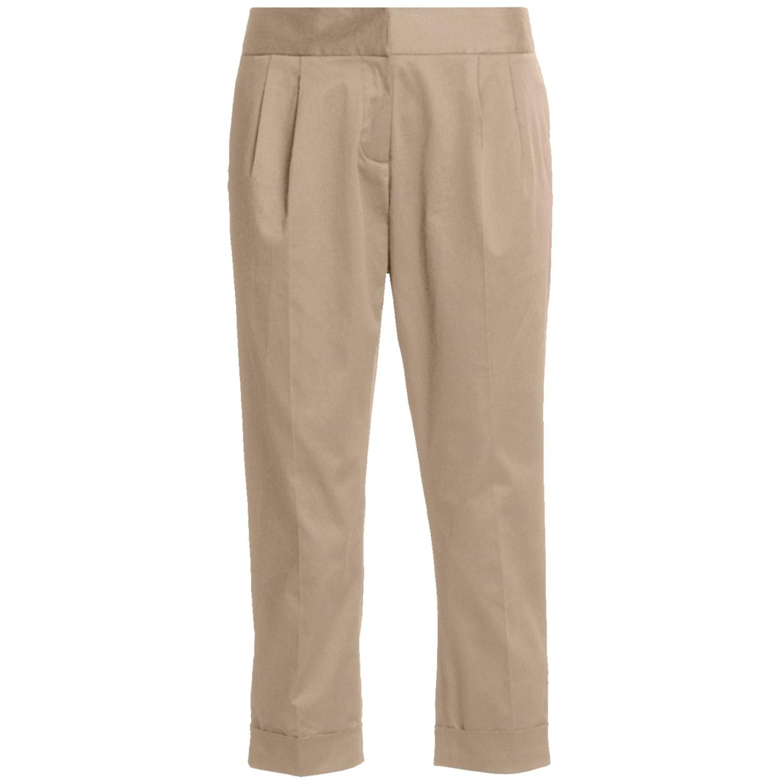 Unique 2015-Women-Mother-Straight-Capris-Quinquagenarian-Cotton-Casual-Pants-Capris-Plus-Size-Pants ...