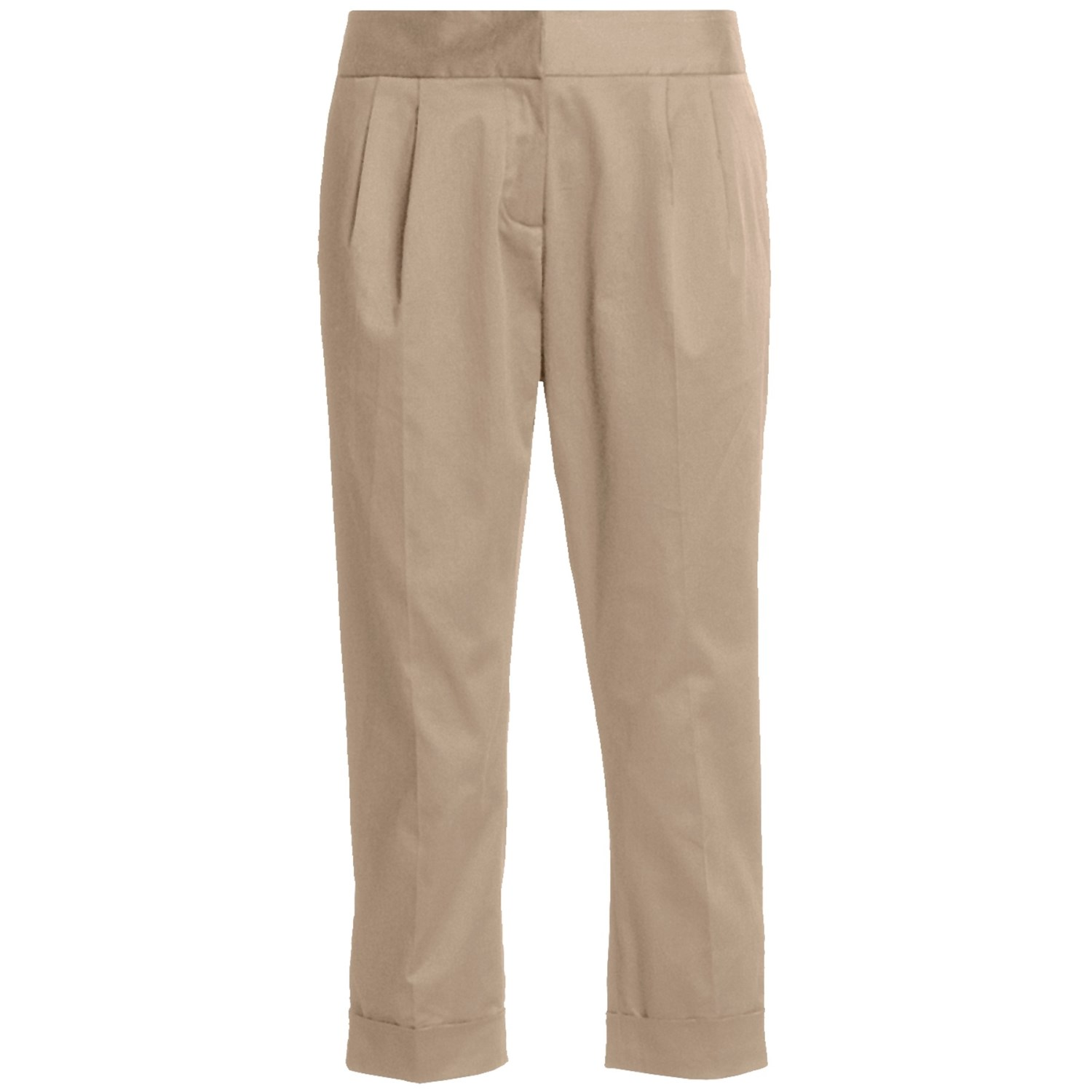 Elegant Quality Like New Khaki Pants By Northcrest 2&quot Belt Loops Side Seam Pockets, Coin Pocket And One Rear Buttoned Pocket Classic Tapered Leg 100% Cotton Machine Washable Tag Size 16Tall Actual Measurements Waist 33&quot, Hips 46&quot,