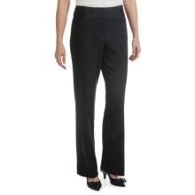 Atelier Luxe Split Waist Pants (For Women) in Charcoal - Closeouts