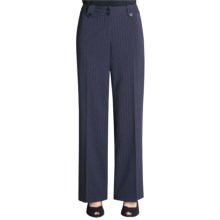 Atelier Stripe Pants (For Women) in Navy Stripe - Closeouts