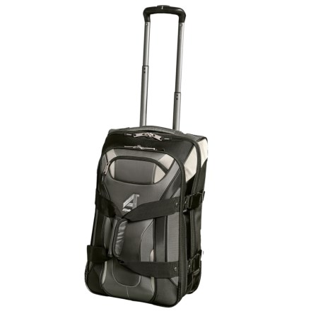 "9449d190503e Athalon 22"" Independence Pass Rolling Carry-On Suitcase in Gray Black -  Closeouts"
