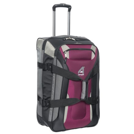 """92871db81190 Athalon 26"""" Independence Pass Roller Suitcase in Berry Gray - Closeouts"""