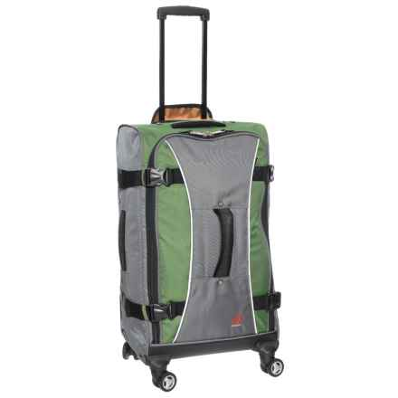 "Athalon 29"" Hybrid Spinner Suitcase in Grass Green/Grey - Closeouts"