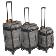 "Athalon 3-Piece Luggage Set - 21"", 25"", 29"" in Camo - Closeouts"