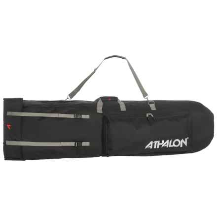 Athalon Backpack Snowboard Bag in Black - Closeouts