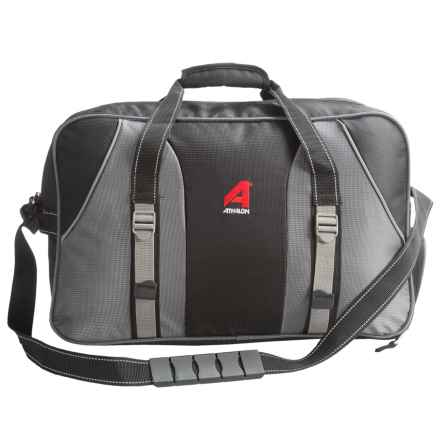 Athalon Carry All Duffel Bag in Black - Closeouts